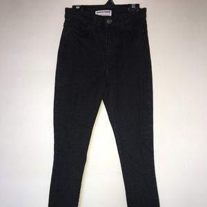 Black American Apparel Jeans — size 25